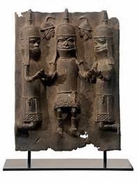 Feinberg_Benin Plauqe, Public Domain, Bing