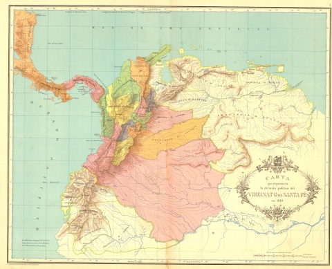 Virreinato_de_SantafÇ_1810